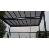 cobertura em vidro para garagem Aeroporto