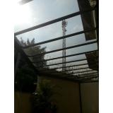 cobertura em vidro para piscina preço Jardins