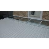 coberturas com telhas de zinco valor Vila Morumbi