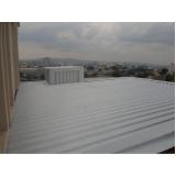 coberturas com telhas metálicas preço Alphaville