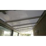 coberturas de policarbonato compacto para garagem Vila Prudente