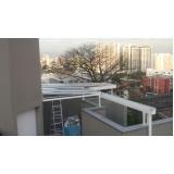 coberturas de policarbonato fixa para janelas Tucuruvi