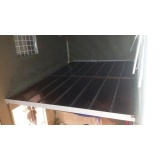 coberturas de policarbonato fixa para lavanderias Pompéia