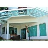 coberturas de policarbonato para janelas Vila Clementino