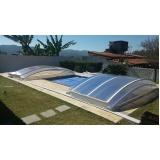 coberturas de policarbonato para piscinas Santos