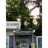 coberturas de policarbonato retráteis translúcida Itapecerica da Serra