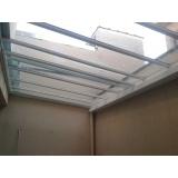 cobertura de policarbonato compacto para varandas
