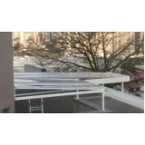 cobertura de policarbonato fixa para jardim de inverno