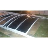 cobertura de vidro para jardim de inverno