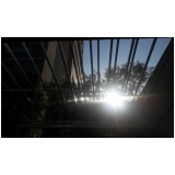 coberturas de vidro para garagem Água Funda