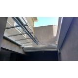 coberturas de vidro para jardim de inverno Jardim América