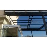 coberturas de vidro para varandas Bertioga