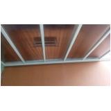 coberturas em policarbonato compacto 6mm Casa Verde