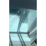 coberturas em policarbonato compacto fumê Água Funda
