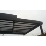 coberturas em vidro para churrasqueira Parque Anhembi