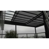 coberturas em vidro para garagem Salesópolis