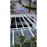 coberturas policarbonato compacto translúcidos Vila Medeiros