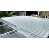 colocação de telha de alumínio acústica Parque do Carmo