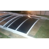 empresa de cobertura de vidro para jardim de inverno Campo Limpo
