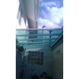 empresa de cobertura em policarbonato compacto fumê Parque Colonial