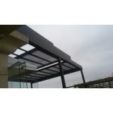 empresa de cobertura em vidro para churrasqueira Parque São Rafael