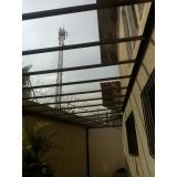empresa de cobertura em vidro para piscina Perus