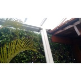 empresa de manutenção de cobertura de policarbonato alveolar em janelas Jardim Guarapiranga