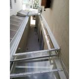 empresa de manutenção de cobertura de policarbonato alveolar em varandas Parque do Carmo