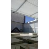 empresa de manutenção de cobertura de policarbonato retrátil em garagem Cursino