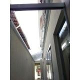 empresa de manutenção de cobertura em policarbonato alveolar em garagem Parque São Jorge