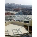 fábrica de cobertura de policarbonato alveolar 4mm Parque Ibirapuera