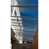 fábrica de cobertura de policarbonato alveolar para garagem Carandiru