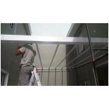fábrica de cobertura de policarbonato alveolar para varandas Santa Isabel