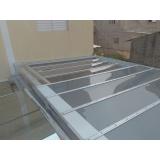 fábrica de cobertura de policarbonato compacto Ibirapuera