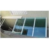 fábrica de cobertura de policarbonato retrátil para janelas Ribeirão Pires