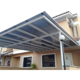 fábrica de cobertura em policarbonato para garagem Santa Isabel