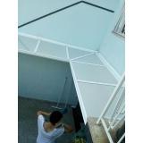 fábrica de cobertura policarbonato compacto cristal Parque Ibirapuera