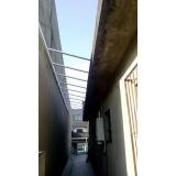 fábrica de cobertura retrátil policarbonato Jardim São Luiz