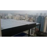 instalação de cobertura com policarbonato alveolar Vila Carrão