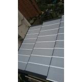 instalação de cobertura de policarbonato alveolar preço Vila Formosa