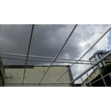 instalação de cobertura de policarbonato retrátil cristal preço Vila Alexandria