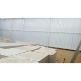 instalação de cobertura de policarbonato retrátil fumê em sp Cubatão