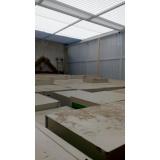 instalação de cobertura de policarbonato retrátil fumê preço Rio Grande da Serra