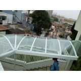 instalação de cobertura de policarbonato retrátil manual Taboão da Serra