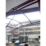 instalação de cobertura em policarbonato alveolar 4mm em sp Cidade Ademar