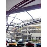 instalação de cobertura em policarbonato alveolar 4mm preço Jardim Adhemar de Barros