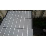 instalação de cobertura em policarbonato alveolar 4mm Água Branca