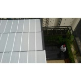 instalação de cobertura em policarbonato alveolar 6mm em sp Jardim São Luiz