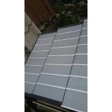 instalação de cobertura em policarbonato alveolar 6mm Anália Franco