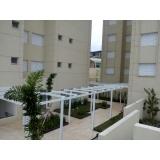 instalação de cobertura em policarbonato alveolar em sp Vila Clementino
